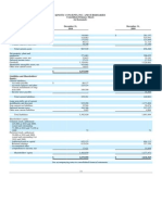 KCI Financial Statements