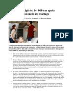 Divorce en Algerie Reactions Lecteurs