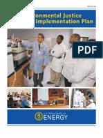 Environmental Justice Department of Energy Plan