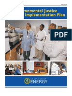 Environmental Justice Department of Energy Plan