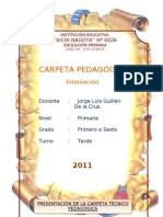 CARPETA PEDAGÓGICA