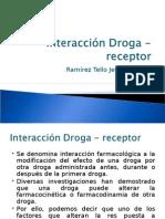 Farmacologia - Interacción Droga - Receptor