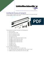 Air Spring Kit Economy