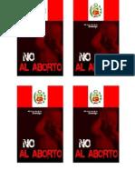 Afiche No Al Aborto