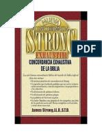 James Strong - Dicionario Biblico Strong - Lexico Hebraico, Aramaico e Grego de Strong