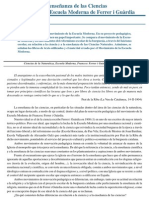 J Senent Josa - La enseñanza de las Ciencias Naturales en la Escuela Moderna de Ferrer i Guàrdia