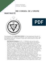 1891 Supreme Conseil de l Ordre Martiniste Milko Bogaard