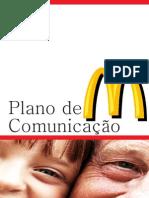 Plano de Comunicação MacDonalt's