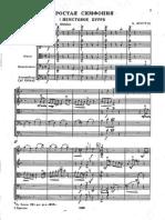 Britten - Simple Symphony (Full Score)