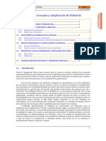 Pediatría 1. Concepto y clasificación de la pediatría