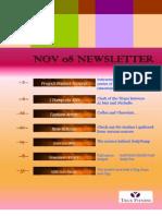 True Fitness Nov 08 Newsletter