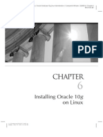 Installing Oracle 10g on Linux