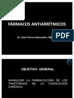 DROGAS ANTIARRÍTMICA II