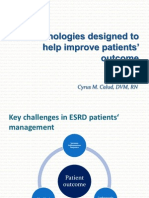 Technologies designed to help improve patients outcome