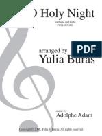 Holy Night - Piano y Cello