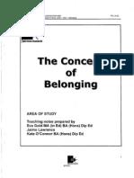 ETA Belonging Booklet