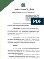 Resolucao - Cnj - Mandados de Prisao