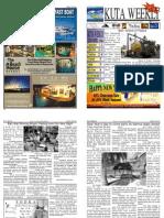 "Kuta Weekly-Edition 266 ""Bali""s Premier Weekly Newspaper"""