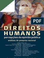 livro - DIREITOS HUMANOS PERCEPÇÕES DA OPINIÃO PÚBLICA
