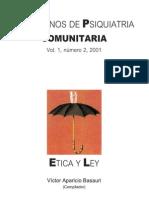 Cuadernos de Psiquiatría Comunitaria vol. 1.2