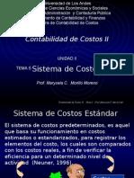 SistemaCostoEstandar