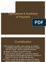 Slide 5 Polymer Synthesis