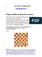 Finales de Ajedrez, Alfiles del mismo color
