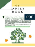 Contoh Buku Keluarga
