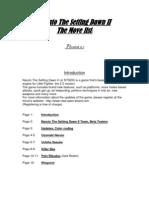 Move-List Credits NTSDII