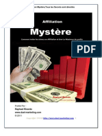Comment gagner de l'argent avec l'affiliation