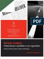 Bain 2010 Decision Insights 5