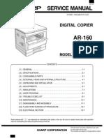 Sharp Ar 205 Service Manual(2)