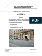 Manchester Pedal Cyclists Survey (2004) GMTU Report 931