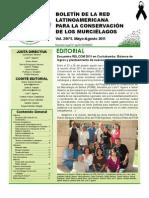 Boletín RELCOM #5_may-ago2011