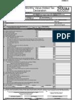 New Form 2550 M - Monthly VAT Return p 1-2(1)