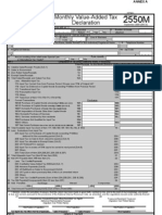 New Form 2550 M - Monthly VAT Return p 1-2(1)