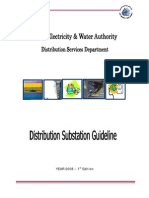 Distribution Substation Guideline- Of 11-22 KV Substation-26 01 2009