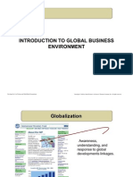 Introduction to Global Business Environment