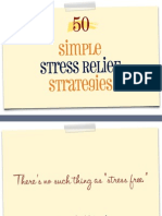 50 Simple Stress Relief Strategies