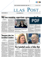 The Dallas Post 01-08-2012