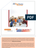 Icici Brochure- PENSION PLAN ULIP