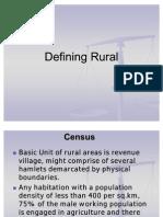 Rural Demographics