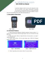 3055B User Manual