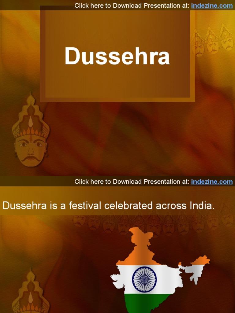 Dussehra PowerPoint Presentation