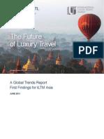 Luxury Travel Trends Report