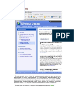 Windows Microsoft Update Manual de Uso