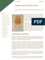 Creating Abundance - Maitreya World Teacher andThe 2012 Christ Energy