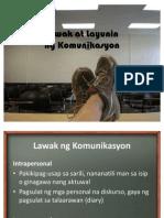 11. Lawak at Mga Layunin Ng Komunikasyon(2)