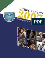 2007 Military Demographics