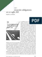 ESCOLARIZAÇÃO OBRIGATÓRIA SEC. XIX